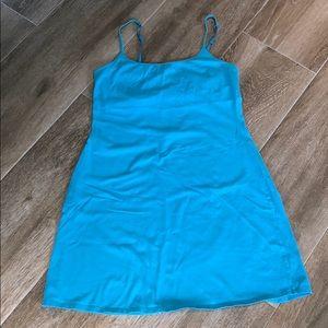 VICOTRIA'S SECRET TANK DRESS W BUILT IN BRA